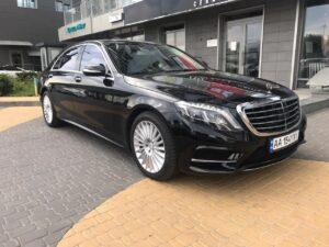 Аренда в Киеве Mercedes-Benz S-Class W222
