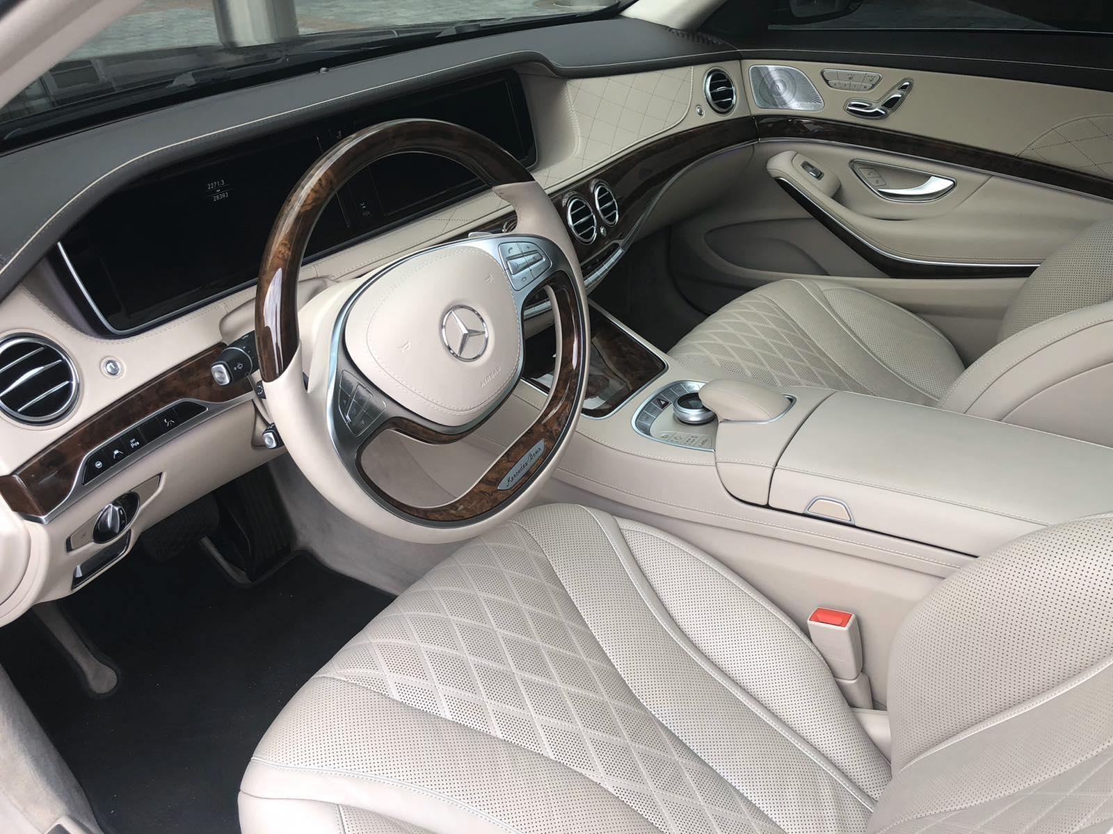 Аренда Mercedes-Benz S-Class W222 в Киеве