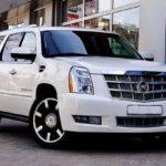 Cadillac Escalade white