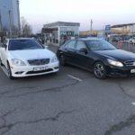Mercedes S-class + E-class