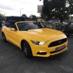 Ford Mustang GT Cabrio 2016 без водителя