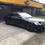 Mercedes S-class w221 без водителя