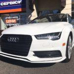 Audi A7 S-line TFSI 2016 без водителя