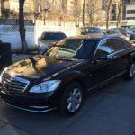 Бронированный Mercedes Benz S-GUARD w221