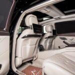 аренда Mercedes-Benz Maybach в Киеве с водителем почасово